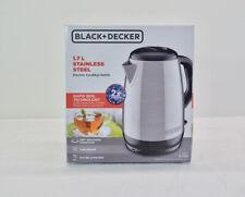 Black & Decker KE1700SD Electric Stainless Steel Kettle 1.7L