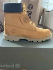 Timberland Premium Leather Men's Boots , Size UK 8.5 Wheat Nubuck