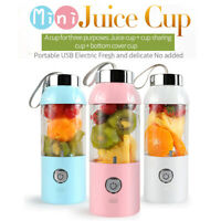 500ml USB Charging Blender Mixer Portable Juicer Machine ABS Juice Fruit 2600mAh