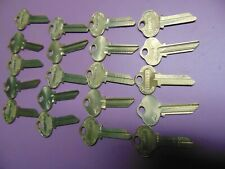 New listing 20 keys Org. Sargent Le Keys Blanks Uncut Locksmith