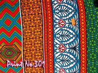 Indian 5 Yard Cotton Fabric Hand Block Handmade Cotton Natural Sanganer Running
