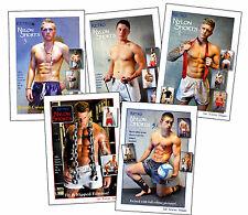 Retro Nylon Shorts Magazine Catalogue Set of 1 2 3 4 5  gym PE white silk