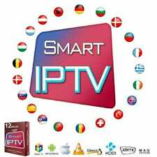 Worldwide Stable TV Subscription 1 Month With Guarantee Android MAG M3U Smart TV