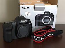 Canon EOS 5D mark ii Body With Box, 2 Batteries, Original Literature & Cables