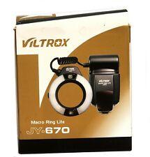 Viltrox anillo Macro Lite jy-670 Anillo Flash