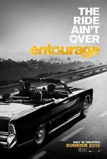 Entourage (2015) Double Sided ORIGINAL MOVIE Film POSTER US One Sheet cool art