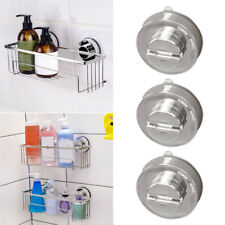 Bathroom Kitchen Vacuum Towel Suction Cup Heavy-duty Double Hooks Holder Hanger