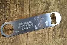 Bottle Opener with PERS. Diamond Engraving-Advertising, Birthday Greetings... - NEW - 837