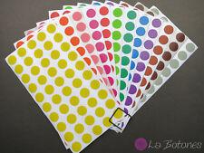 Klebepunkte 12mm - Markierungspunkte - Aufkleber Punkte - Sticker Dots - Filofax