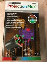 """LIGHTSHOW WHIRL-A-MOTION """"NORTH POLE"""" OUTDOOR CHRISTMAS LED STAKE LIGHT"""