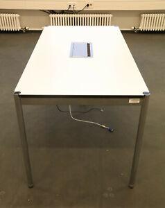 Tisch, Schreibtisch 150x75, Besprechungstisch USM Haller 160419-02