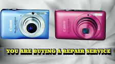 CANON SD1300 IS OR SD1400 IS DIGITAL CAMERA REPAIR SERVICE-60 DAY WARRANTY