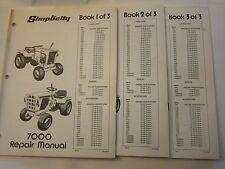 Original Simplicity Landlord Baron Sovereign Service Repair Manual 3 Volumes LG5