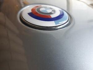 Logo BMW Roundel Motorsport 58mm front hood trunk badge E30 E34 E36 E24
