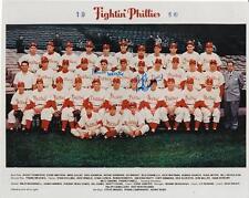 ROBERTS & SIMMONS Autographed Signed 8 x 10 Photo Philadelphia Phillies COA