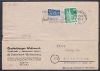 Allied Occupation Notopfer 2 With Ausbuchung Mif Bizone 80 Card, Düsseldorf