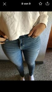 Hollister Jeans W27/L30/ 5R/ high rise super skinny