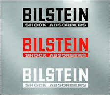 Bilstein shock absorbers logo Decal sticker honda bmw audi wolkswagen red cm low