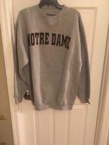 Notre Dame Mens Sweat Shirt L