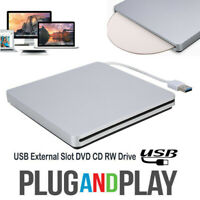 USB 3.0 External Slot in Load CD DVD RW Optical Drive Burner For Laptop PC HA
