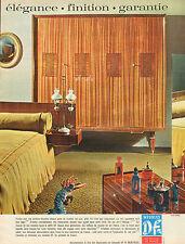 Publicité Advertising 1965 Meubles DF chambre salle à manger ..