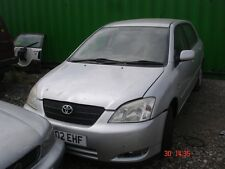 TOYOTA COROLLA 2002 5DR 1598CC PETROL - **BREAKING**SPARES**
