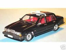 "wonderful modelcar  VOLVO 740GL Saloon 1987  ""TAXI"" - black - scale 1/43"