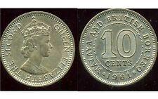 MALAISIE ( MALAYA BRITISH BORNEO )  10 cents 1961
