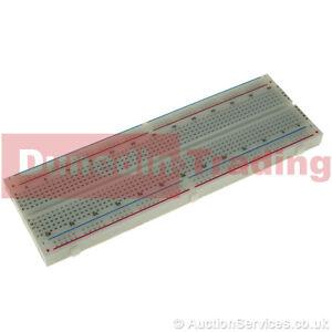 Full Prototype Breadboard for Arduino. 830 Tie Point Solderless Modular Board