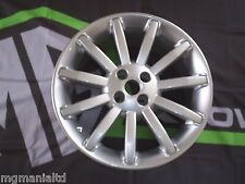 MGF MG F 4x Genuine 11 Spoke Alloy Wheel New Silver Sparkle mgmanialtd.com