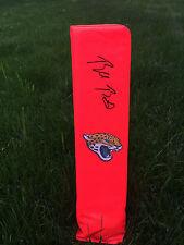 Jacksonville Jaguars BLAKE BORTLES SIGNED autographed football FULL SIZE pylon!