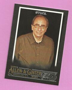 2020 Topps Allen & Ginter X R.L. Stine #297 Author