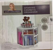 LORI GREINER Makeup spinning  Organizer table top  Cosmetics Storage Case,
