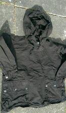 Swedish snow parka smock bush craft jacket  vintage black xl