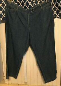 NWT  Women's  Courtenay cropped pants 1038w Blue Denim color Size 24W