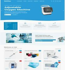 Medical Dropshipping Website For Sale with 7000 Products + hosting