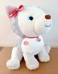 Hallmark Story Buddy - Bell The Husky Pup 66cm Huge Plush Soft Toy New With Tags