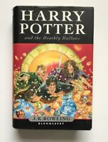 HARRY POTTER AND THE DEATHLY HALLOWS FIRST EDITION - J.K.ROWLING BLOOMSBURY H/B