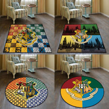 Harry Potter Hogwarts Velboa Floor Bedroom Rug Home Non-slip Chair Mat Carpet