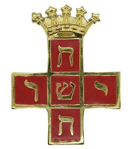 Quality Masonic Rose Croix18th Degree MWS Collar Jewel Masons Collarette Regalia