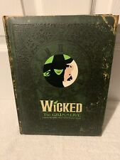 The Wicked Grimmerie The Official Companion to the Broadway Musical Puffy Cover