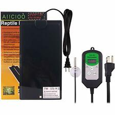 New listing Upgrade Reptile Heating Pad with Thermostat - Adheresive Removable Under Tank