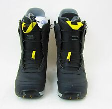 BURTON ION MEN'S SNOWBOARD BOOT - COLOR: BLACK/YELLOW - SIZE: 7 - USED!!!