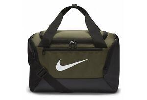 Nike Brasilia Duffel Bag XS 9.0 Unisex Pack Training Gym Sports Khaki BA5961-325