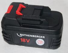 ORIGINALE ROTHENBERGER ROMAX 3000 batteria/batteria di ricambio Li-Lon 18 V/3 Ah Nuovo