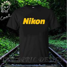 New Fashion tee Nikon Logo Mens T Shirt tee Custom sz S- 2XL
