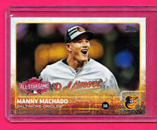 2015 Topps Update US17 Many Machado All-Star Game Mint Free Shipping