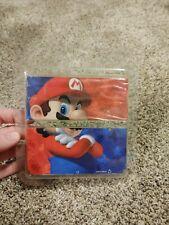 New Nintendo 3DS Cover Plates No.069 Mario Red & Blue New