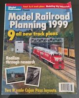 MODEL RAILROADER - MODEL RAILROAD PLANNING 1999