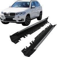 für BMW X5 F15 Bj. 13->> Set Trittbretter Schweller Aluminium